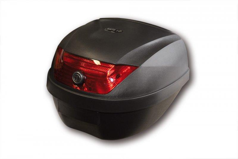SHIN YO Top Case ROME, schwarz, 28 Liter Koffer