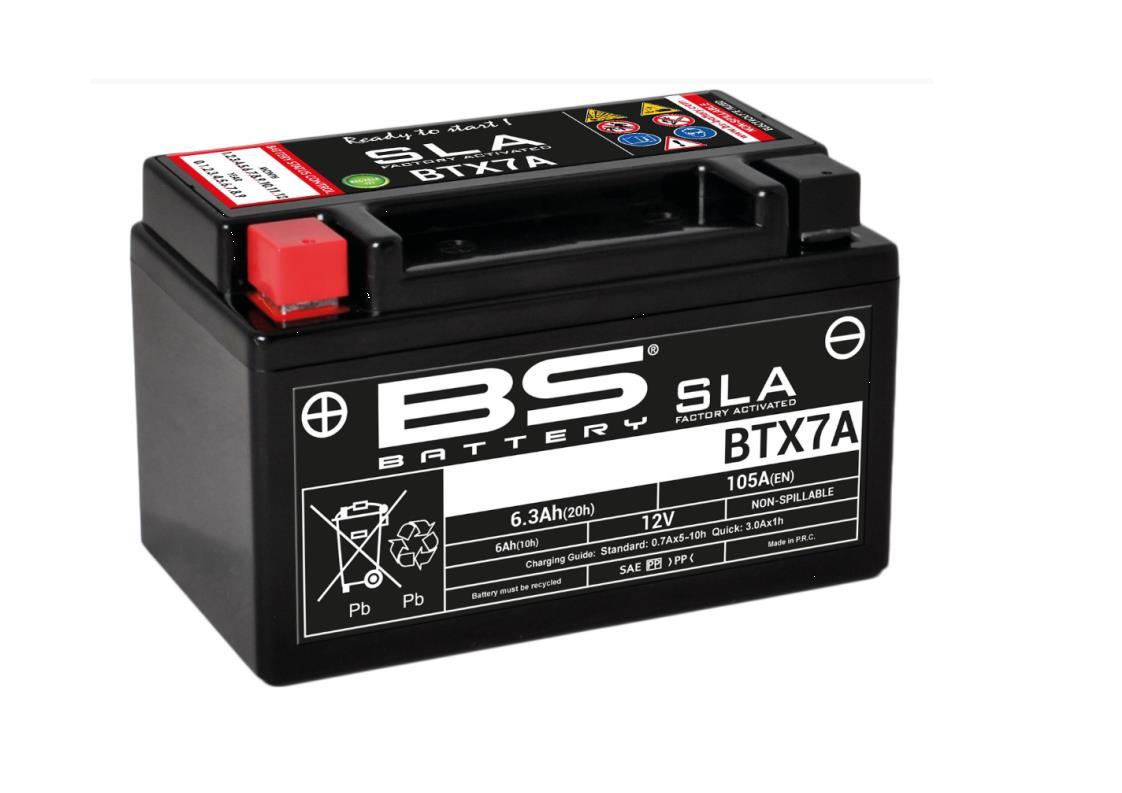 Batterie BTX7A BS SLA