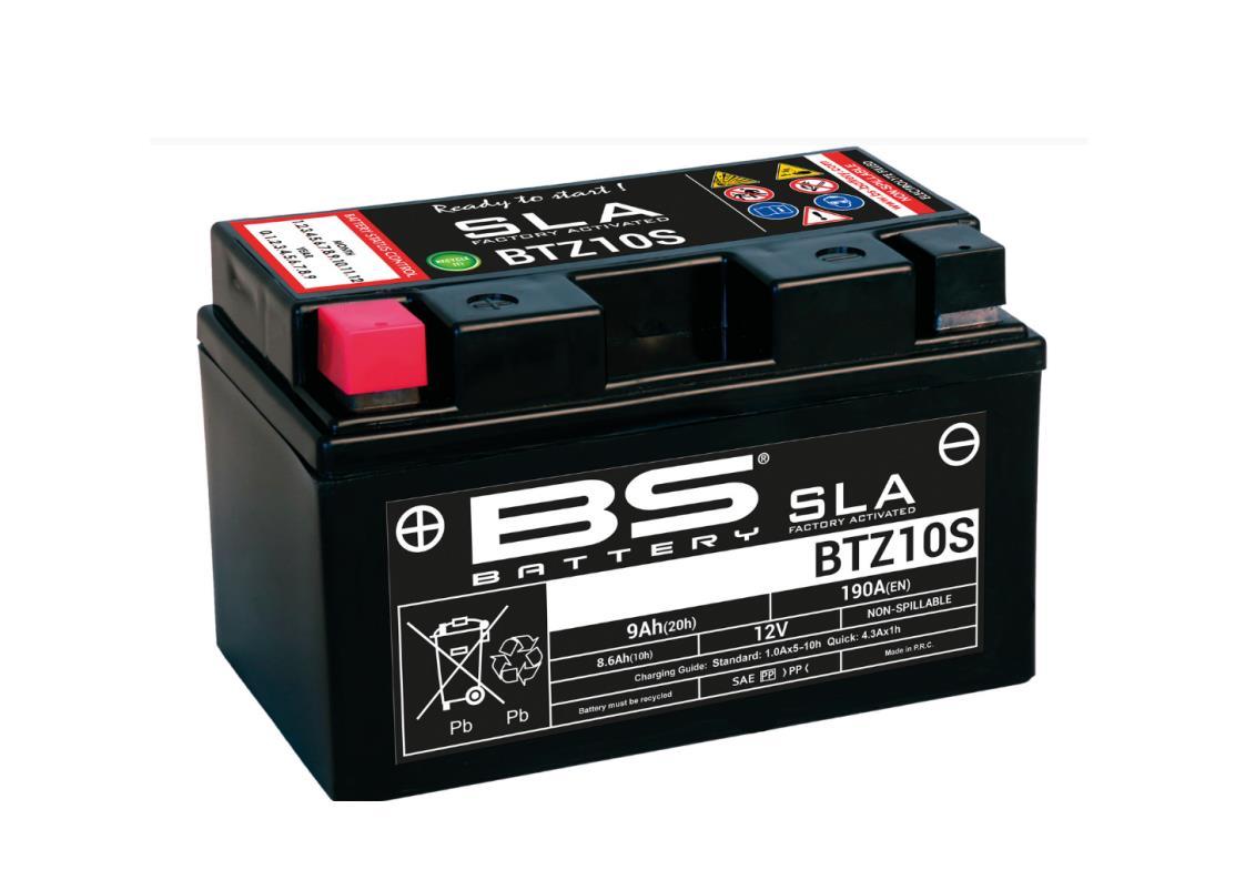 Batterie BTZ10S BS SLA