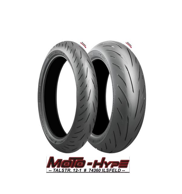 Bridgestone S22 Reifen Set mit 55er